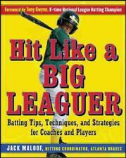 HIT LIKE A BIG LEAGUER - NEW PAPERBACK BOOK