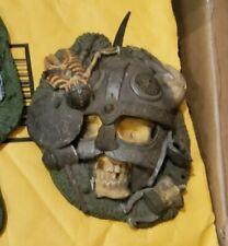 Marvel Legends THOR Figure Stand Base ONLY Toybiz Skeleton Skull Diorama