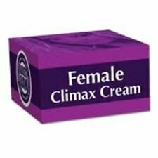 Female Sexual Climax Arousal & Lubrication Cream 50gm Free UK Delivery