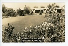 Unzlemans Motel RPPC Santa Rosa CA Vintage Roadside Sonoma County Photo 1940s