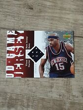 New listing Vince Carter Jersey Relic 2006-07 UD Reserve Game Jersey #UD-VC
