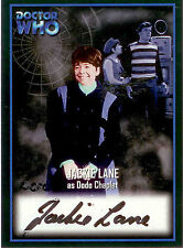 2001 Strictly Ink Doctor Who Trading Card Autographed Card AU5 Jackie Lane