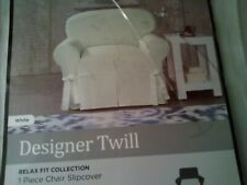 White Slipcover For Chair 32 x 43