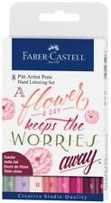 Faber Castell Tuschestift Rosatöne PITT artist pen Handlettering 8er Starterset