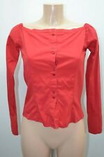 ZARA CHEMISIER .  ROUGE TAILLE 38 T38 M   SHIRT CAMISA BLUSE BLOUSE / 1