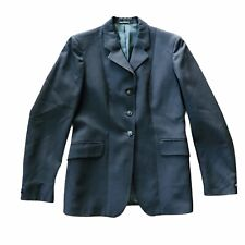 Pytchley Women's Equestrian Navy Blue Wool Riding Jacket Made In England Medium?