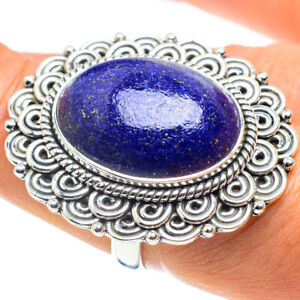 Lapis Lazuli 925 Sterling Silver Ring Size 8 Ana Co Jewelry R58550F