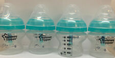 Tommee Tippee Advanced Anti-Colic Baby Bottles, 5 Oz, 4-Pack Used
