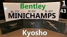 Bentley Dealer Edition Minichamps Kyosho 1/43 Scale Diecast model n Resin neo