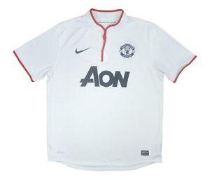 Manchester United 2012-14 Original Away Shirt (Very Good) L Soccer Jersey