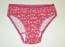 NWT GYMBOREE PINK WILDFLOWER PANTY UNDERWEAR GIRLS SIZE XS (3-4) NEW