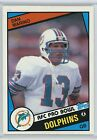 1984 Topps Dan Marino #123 Miami Dolphins Rookie Card RC Near Mint Sharp