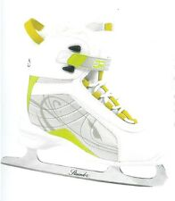 New Dr Sk33 soft boot women's ice figure skates size 10 sz womens ladies ladie's