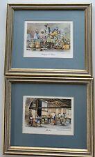 2 Charlestown, Sc Ed Emerson Framed Prints~Market & Sweetgrass & Flowers~Euc