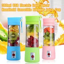 380ml USB Elettrico Spremitore Frullatore Succo di frutta Smoothie Maker Ice HOT