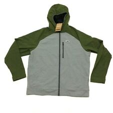 Patagonia Snap Dry Hoody Fitz Trout Mens Gray Green Size Large
