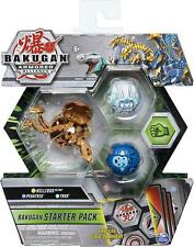 Bakugan Starter Pack 3-Pack blindado Alianza Coleccionables Figuras De Acción-aleatorio