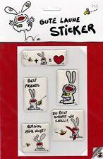 NIC Gute Laune Sticker ✫ 5 Stück NEU