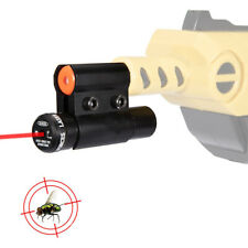 Salt Gun Red Dot Laser Sight Scope with Barrel Clamp Mount, kill bugs and flies