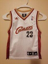 f0ffa23354d Adidas NBA Cleveland Cavaliers Lebron James Jersey  23 Boys Size Medium (5-6