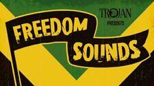 Vinyl Sticker freedom sounds ska skinhead trojan mods reggae laptop car 13x7.5cm