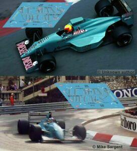 Decals March 881 Monaco GP 1989 1:32 NSR Formula F1 Leyton House slot decals