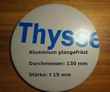 Ronde aus Aluminium plangefräst AlMg3 Blech 130 x 15 mm foliert aluscheibe
