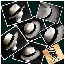"""ON SALE !! Genuine Ecuador Montecristi Paja Toquilla """" Panama Hat """""""