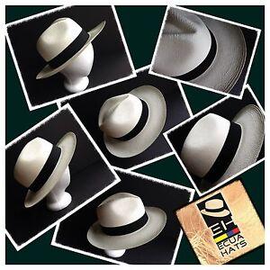 """Genuine Ecuador Montecristi Paja Toquilla """" Panama Hat """""""