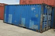 Used 20 Dry Van Steel Storage Container Shipping Cargo Conex Seabox Baltimore
