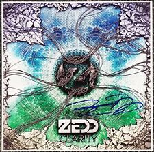 ZEDD DJ SIGNED 12X12 CLARITY ALBUM COVER PHOTOGRAPH W/COA
