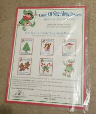 New Teacher Christmas Large Little Elf Sing-Along Posters