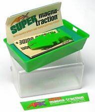 1 1978 AURORA Embossed Clear Cover Super Mag Green Clam Shell Slot Car Rare BOX