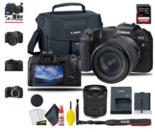 Canon EOS RP Mirrorless Digital Camera with 24-105mm f/4-7.1 Lens, + EOS Camera