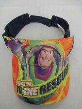 Buzz LIghtyear To The Rescue Disney Pixar Toy Story 3 One Size Cap Hat Visor