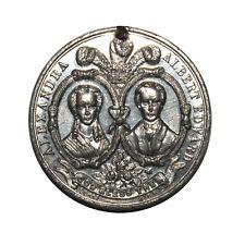 Royal Wedding - Edward VII & Alexandra of Denmark - Medallion 1863