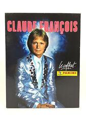 Claude Francois Le Coffret Collector 3 Cd + Album Panini + 200 Stickers