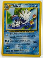 POLIWHIRL 44/75 1st edition Neo DISCOVERY  NM/Mint Pokemon Card ⭐