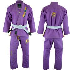 Jiu Jitsu Brazilian bjj Gi Uniform Purple Kimonos MMA Suit By Dragon