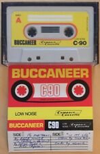 BUCCANEER C90 VINTAGE USED CASSETTE TAPE MADE IN PORTUGAL
