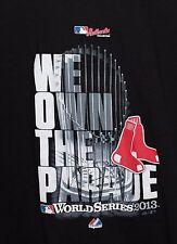 MLB Boston Red Sox We Own The Parade 2013 World Series Kids Black Large T Shirt