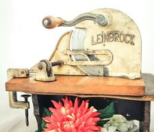 Antique LEINBROCK Bread Slicer Cutter Cast- iron Cutting Slicing Machine Germany