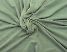 Sage Stretchy French Terry Knit Fabric by Yard 8/12/16