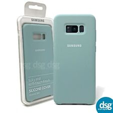 Official Samsung Galaxy S8+ Mint Silicone Cover - EF-PG955TLEGWW
