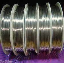 1 Bobina Filo Argentato 0,6mm x 6 metri filo Plated Copper
