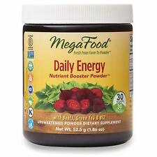 MegaFood Daily Energy Booster Powder Unsweetened 1.86 oz (30 Servings)
