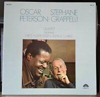 Oscar Peterson, Stephane Grappelli Quartet Vol. 2 - 1973 gf LP record excellent