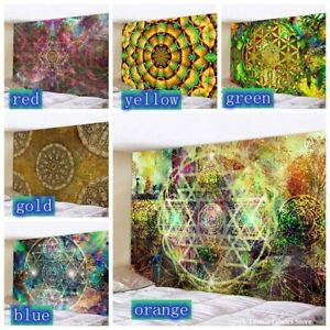 Psychedelic Indian Mandala Tapestry Abstract Wall Hanging Tapestries Home Decor