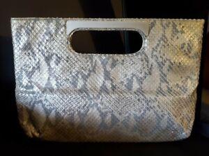 RODO snakeskin handbag Italian