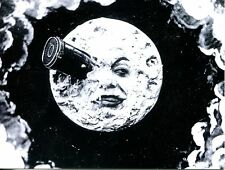 POST CARD OF VINTAGE PICTURE FROM OLD MOVIE VERNE'S JOURNEY TO THE MOON